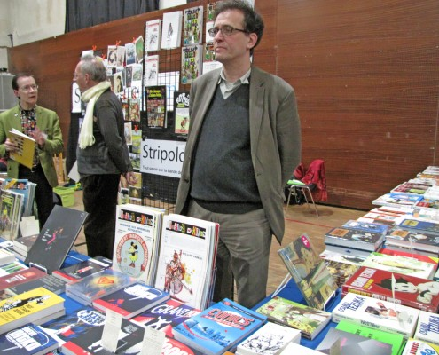 Le stand Stripologie.com