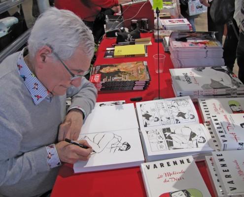 Alex Varenne en signature