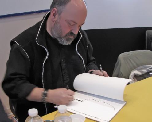 Dave McKean sur le SoBD 2014