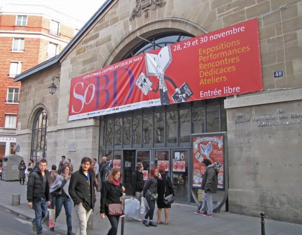 L'entrée du salon SoBD en 2014.