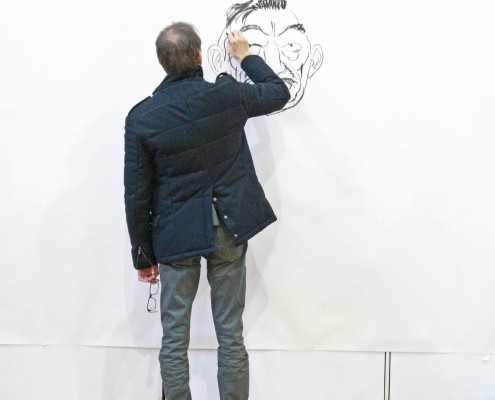 Daniel Goossens en performance au SoBD 2015