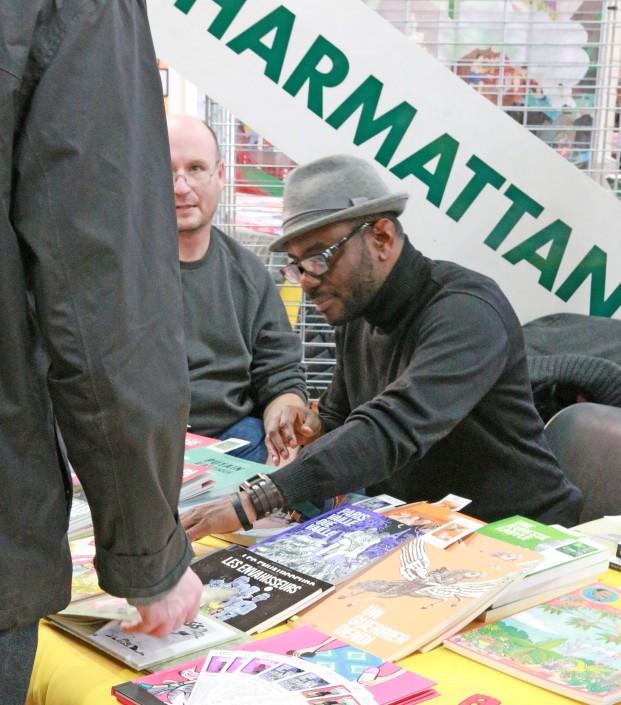 Stand L'Harmattan au SoBD 2015