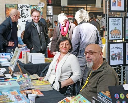 Stands Psikopat et Siranouche Editions au SoBD 2015