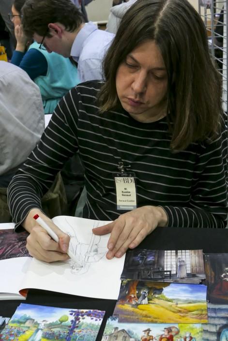 L'auteur Renaud Eusèbe sur le SoBD 2015