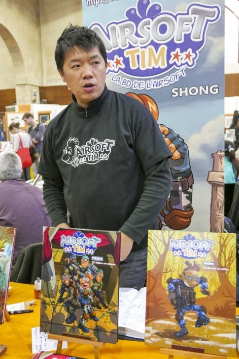 Le dessinateur Shong Yong au SoBD 2015