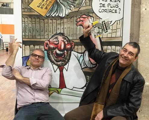 Pierre-Marie Jamet et Renaud Chavanne sur le SoBD 2015