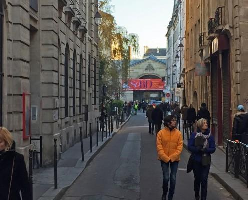 Le SoBD 2016 vu de la rue des Blancs Manteaux