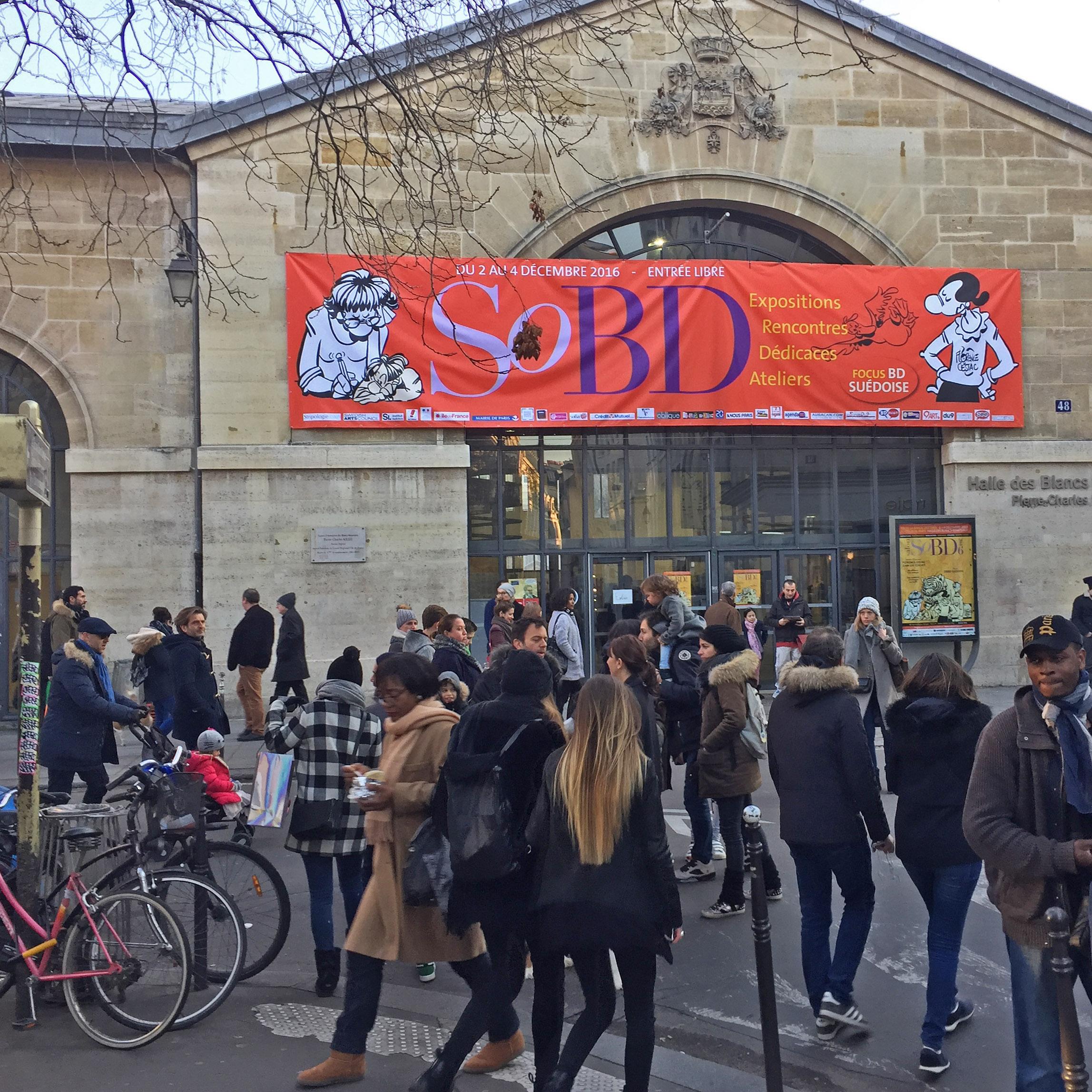 Le SoBD 2016, vue de l'extérieur