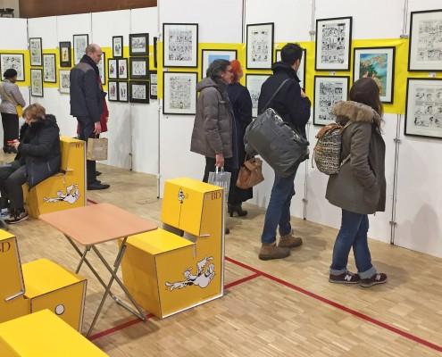 L'expo Cestac du SoBD 2016