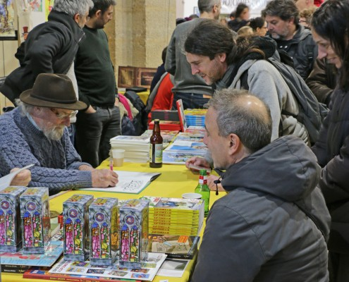 SoBD 2016, Gilbert Shelton en signature