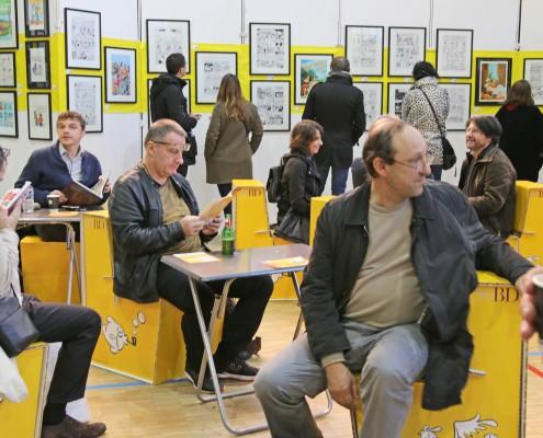 Le Café BD du SoBD 2016
