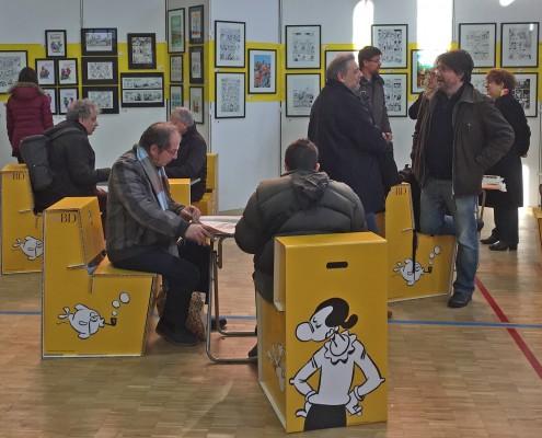 SoBD 2016, le Musée Éphémère de Florence Cestac