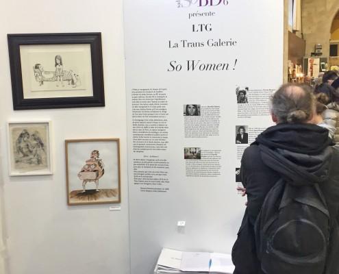 Expo So Women ! de la Trans Galerie sur le SoBD 2016
