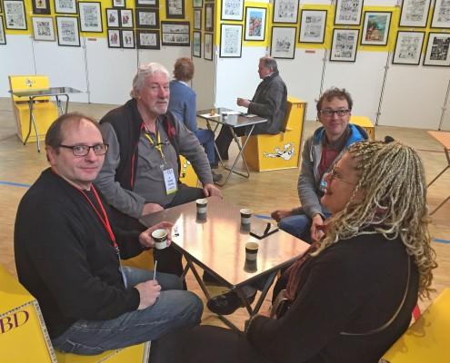 SoBD 2016, conciliabule entre libraires-éditeurs