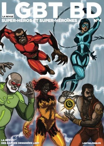 Super-héros et super-héroïnes Revue 4, LGBT BD
