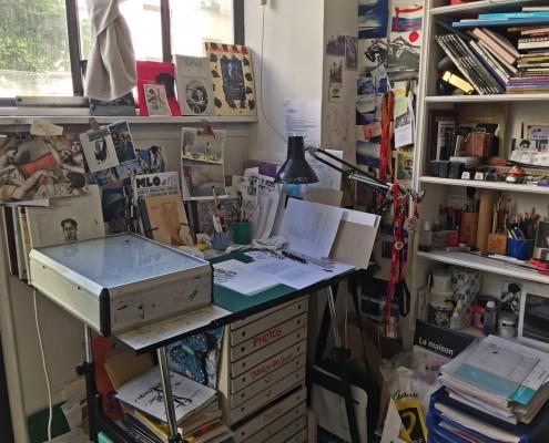 L'Atelier d'Edmond Baudoin