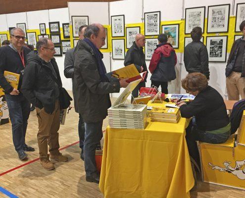 2016-12-03 SoBD - Expo Cestac - Florence en dédicace