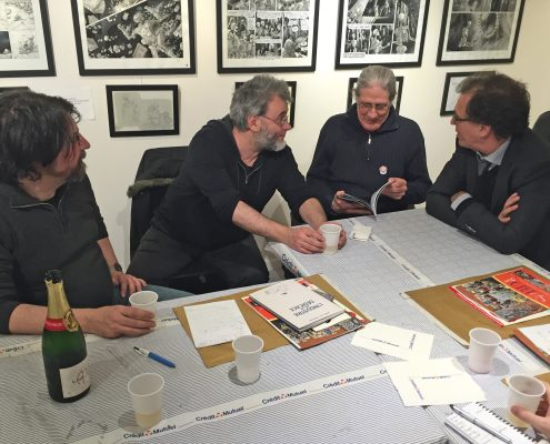 SoBD 2016 - 1ere réunion du Comité de Pilotage