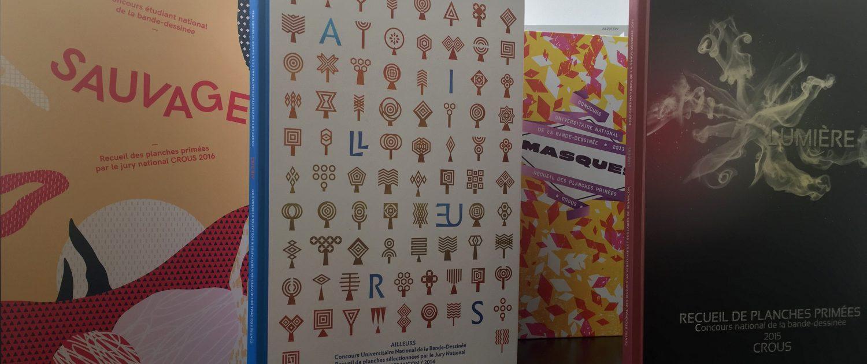 Albums Concours BD Les Crous