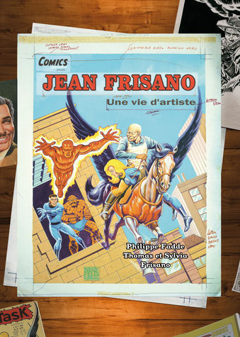 Jean Frisano, par Philippe Fadde, Thomas et Sylvia Frisano