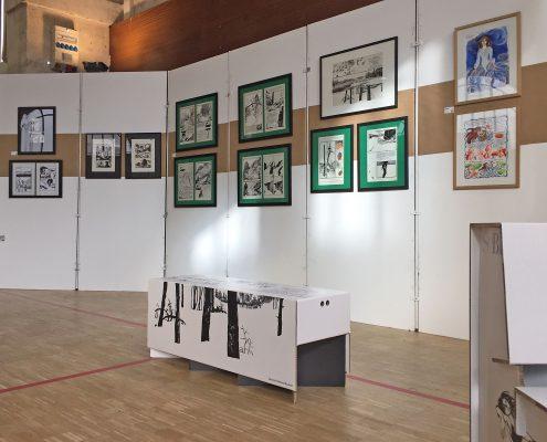 Le Musée Ephémère d'Edmond Baudoin