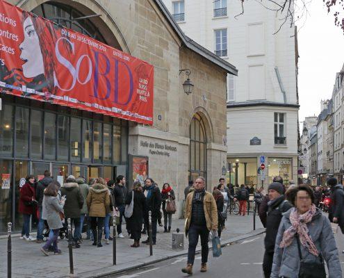 SoBD 2017 - Façade de la Halle des Blancs Manteaux
