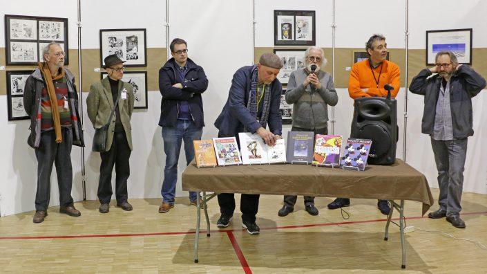 Remise du Prix Papiers Nickelés SoBD 2017