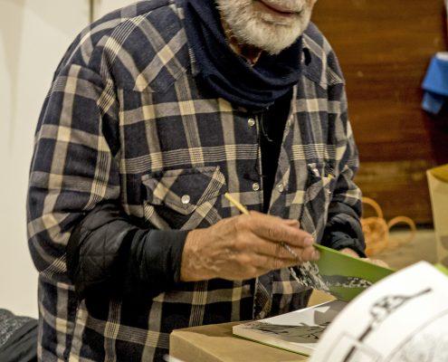 Edmond Baudoin en dédicace