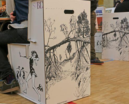 SoBD 2017 - Mobilier en carton