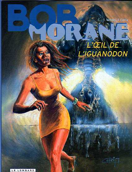 Bob Morane L'oeil de l'iguanodon, Henri vernes, L'Age d'OR BD Charleroi