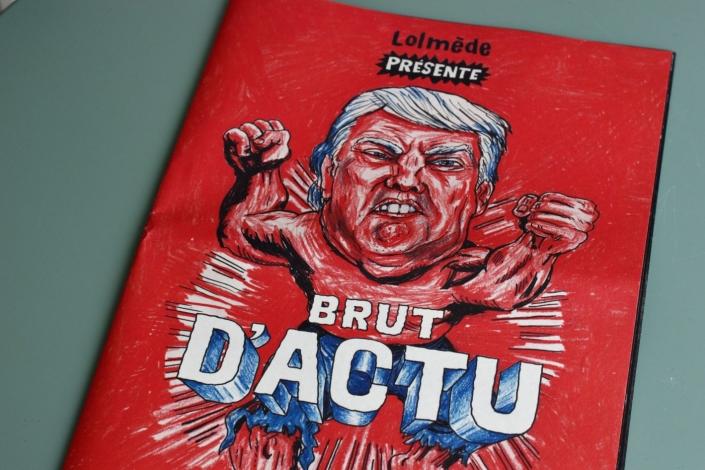 Brut d'actu, Laurent Lolmède, United Dead Artists