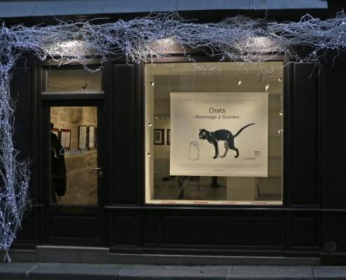 L'exposition Chats, hommage à Steilen sur le SoBD