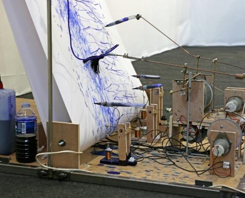 Machine à dessiner de Rodolphe Baudouin