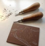 Hélène Bautista - atelier de gravure - atelier de gravure