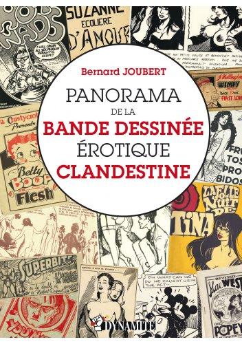 Panorama de la bande dessinée érotique clandestine, de Bernard Joubert