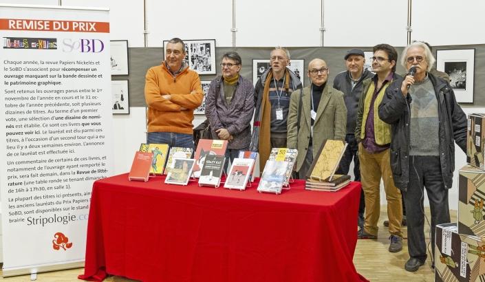 Remise du Prix Papiers Nickelés SoBD 2018