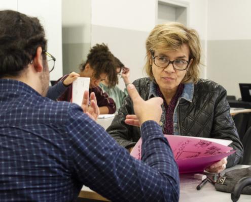 SoBD 2018 - Atelier BD avec Brigitte Fontaine