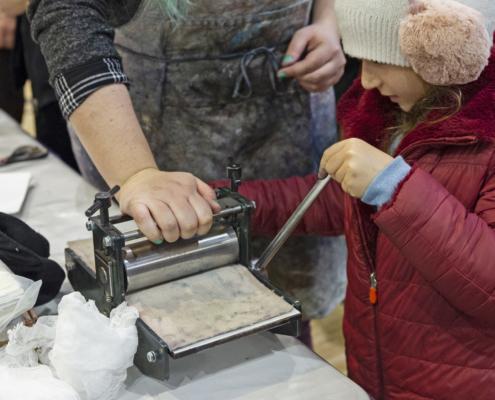 SoBD 2018 - Atelier gravure sur brique de lait