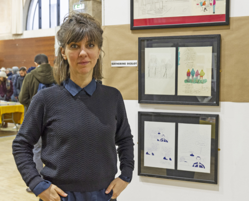 Catherine Ocelot sur le SoBD 2018