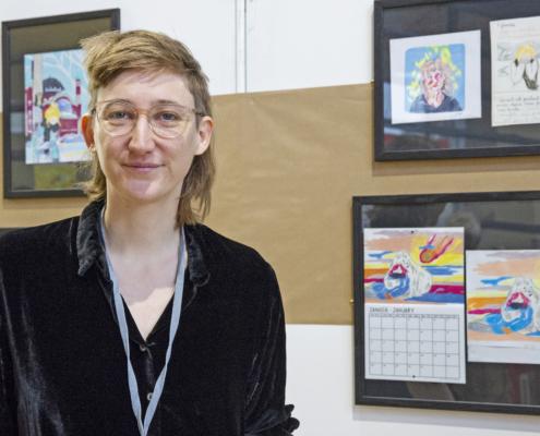 Julie Delporte sur le SoBD 2018