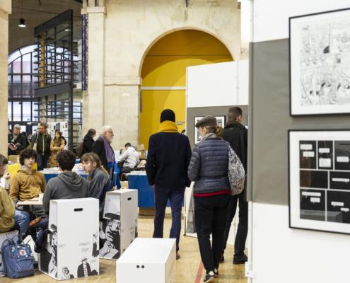 SoBD 2018 - Musée Ephémère de Marc-Antoine Mathieu