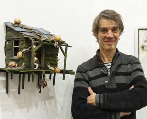 Rodolphe Baudoin et sa Cabane Indécente