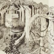 Francois Andes, Le Temple dans la forêt