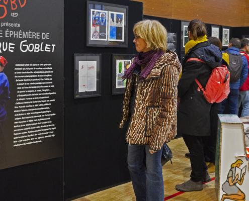 SOBD 2019, le Musée éphémère de Dominique Goblet