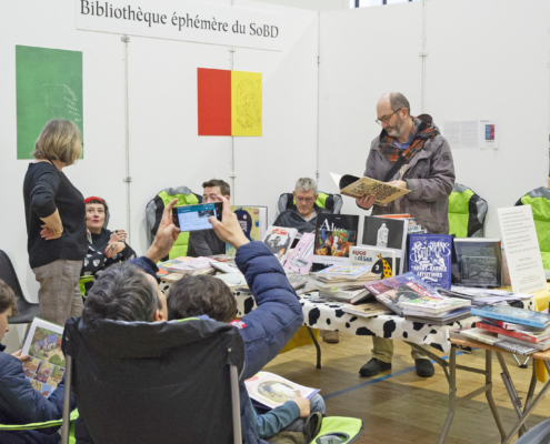 La Bibliothèque éphémère du SoBD 2019
