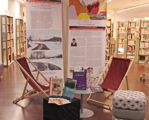 Le Corner Dominique Goblet àla Bibliothèque Arthur Rimbaud
