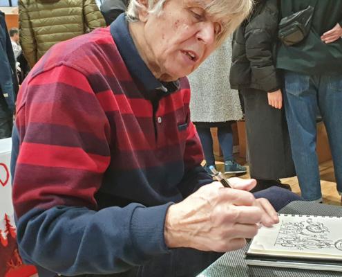 Tadeusz Baranowski en dédicace sur le SoBD 2019