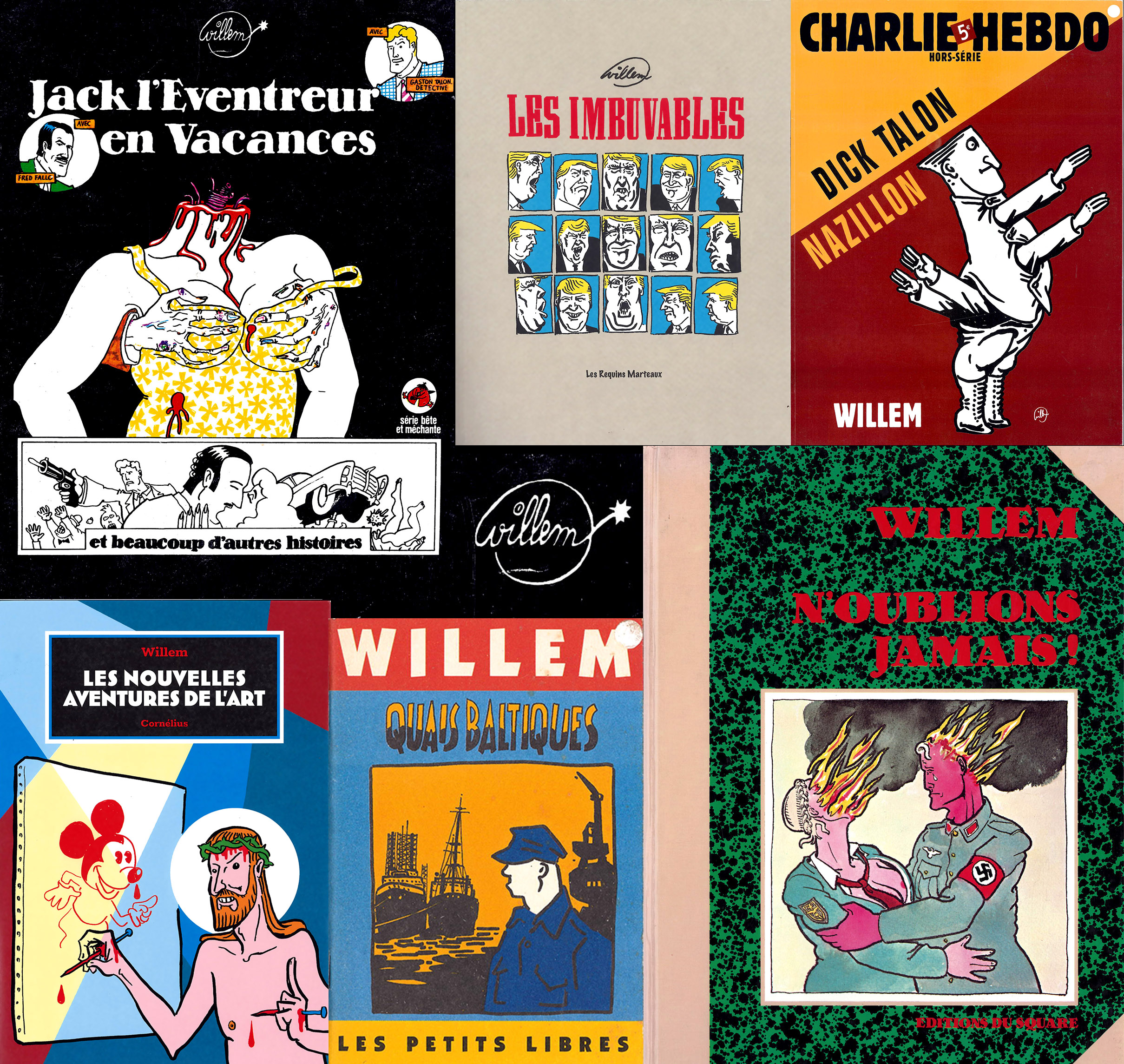 Quelques livres de Willem