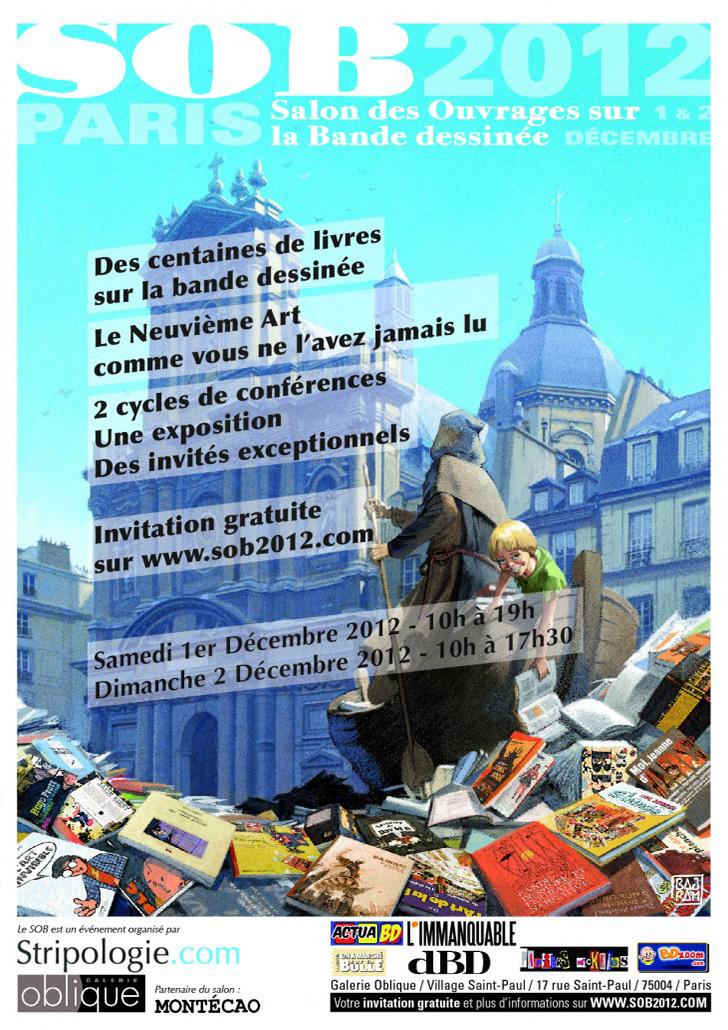 SoBD 2012 - L'Affiche