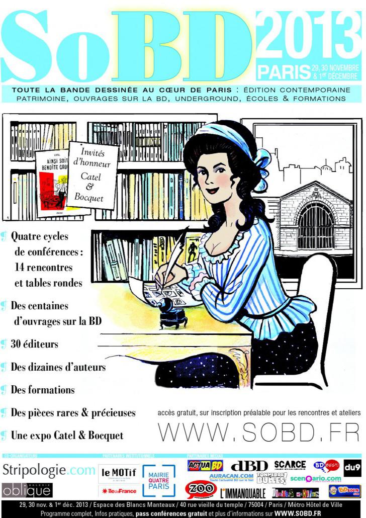 SoBD 2013 - L'Affiche